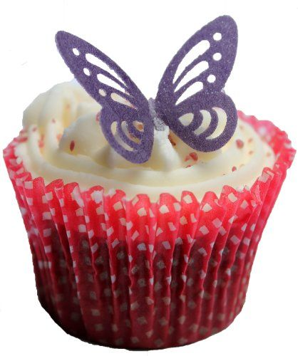 Toppercake Edible Wafer Butterfly Cup Cake Decorations Deep Purple Toppercake http://www.amazon.co.uk/dp/B007NWVPF2/ref=cm_sw_r_pi_dp_NhOewb1NZCASB