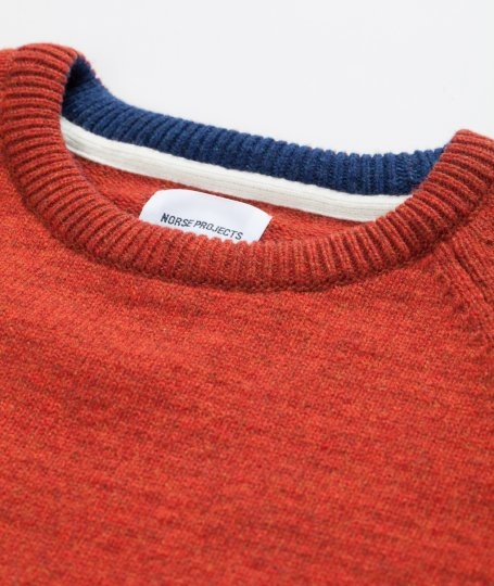 Norse Projects - Birnir Raglan Solid Knit