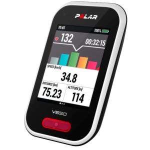 V650 HR, sykkelcomputer med GPS og pulsmåler