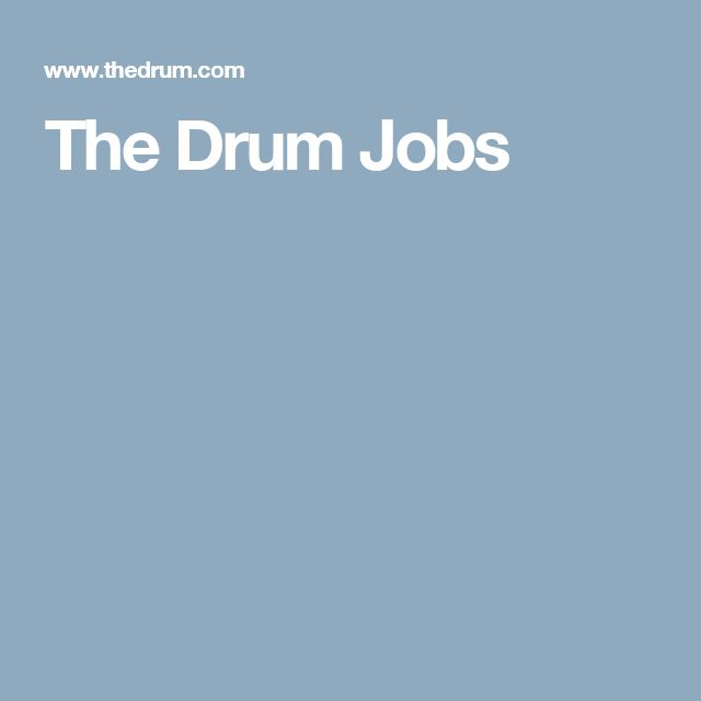 The Drum Jobs - UK