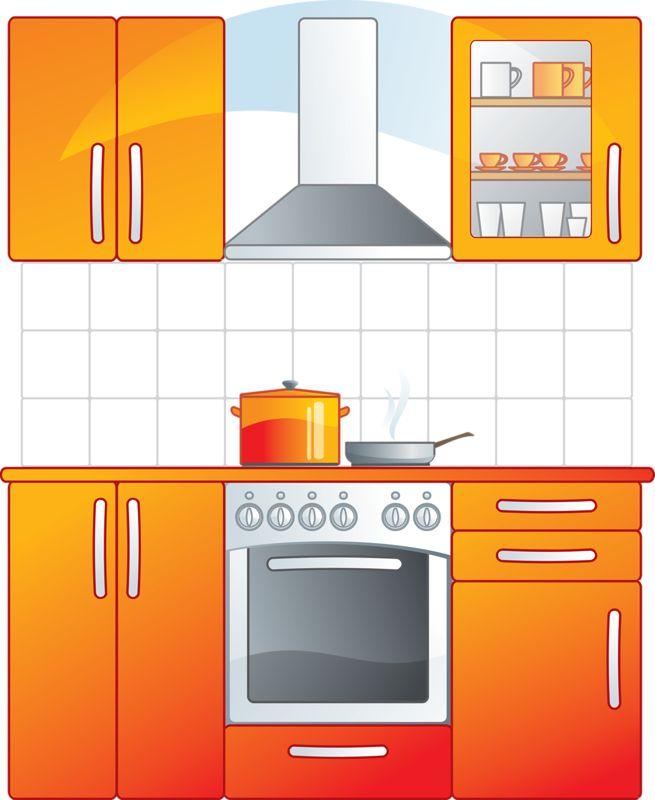 Kitchen Design Clip Art