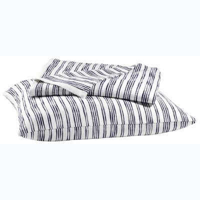 John Robshaw Textiles - Nila Striped Cotton Coverlet - Striped Cotton - Quilts & Coverlets