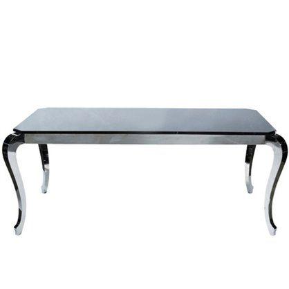 Stół Bijou Steel 192x102, kare design