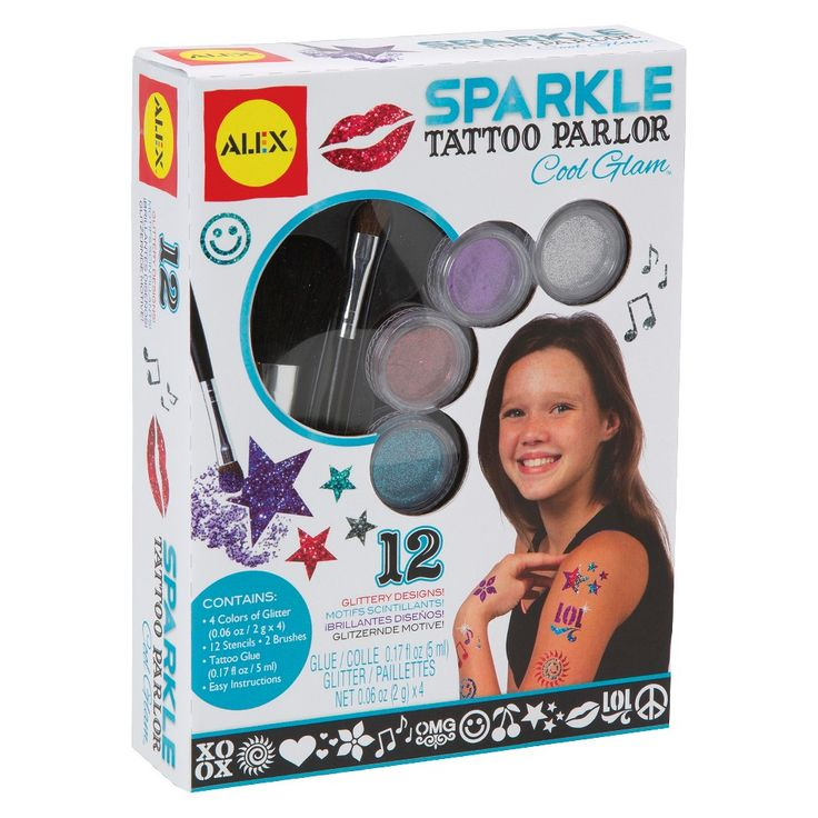Alex Toys Sparkle Tattoo Parlor Cool Glam