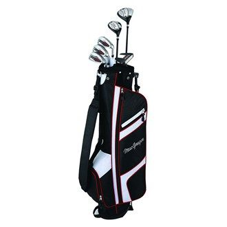 MacGregor Golf MacGregor Mens CG1900 Half Package Set The Macgregor CG1900 Ladies graphite half set features a low profile fairway wood hybrid 3 x graphite irons and 6.5 stand bag that includes a quick release stand mechanism along with matching headcove http://www.MightGet.com/january-2017-11/macgregor-golf-macgregor-mens-cg1900-half-package-set.asp