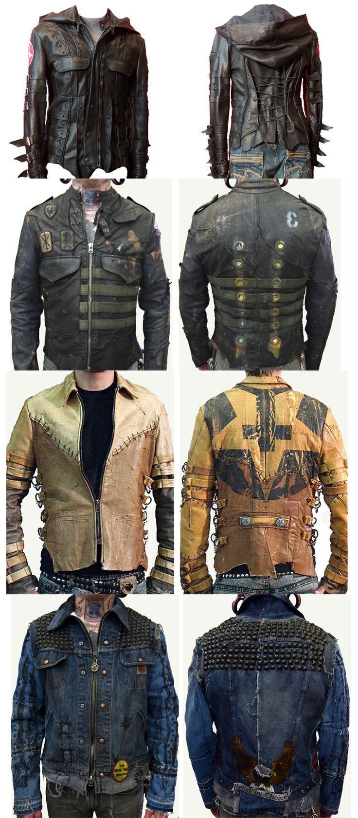 Post-apocalyptic coats: