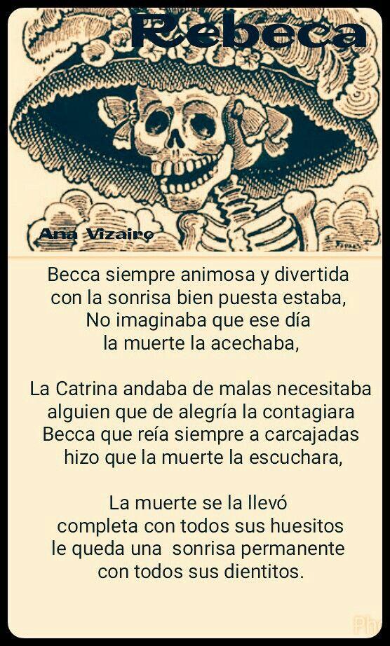 Rebeca  Calavera literaria 2015