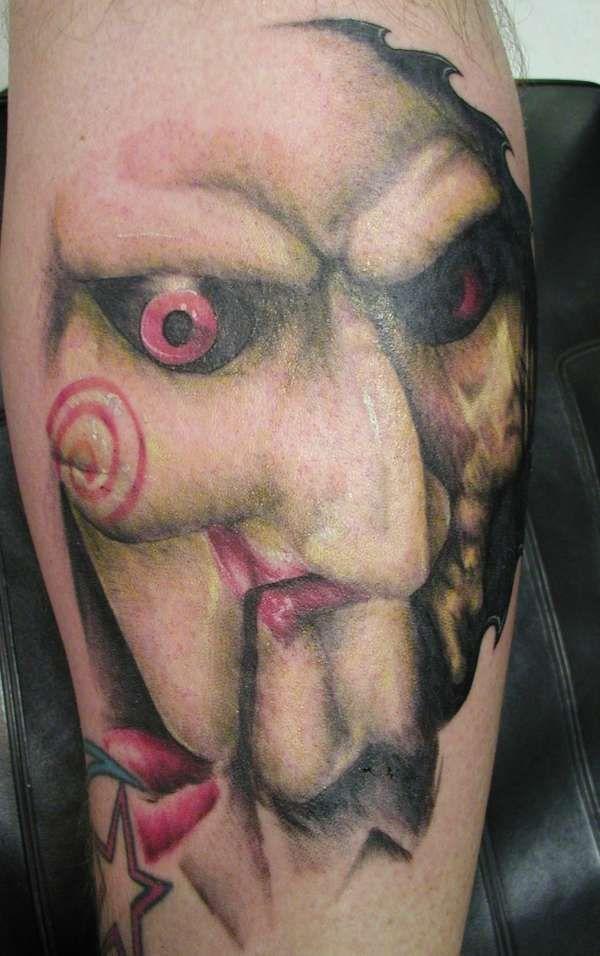 Jigsaw tattoo