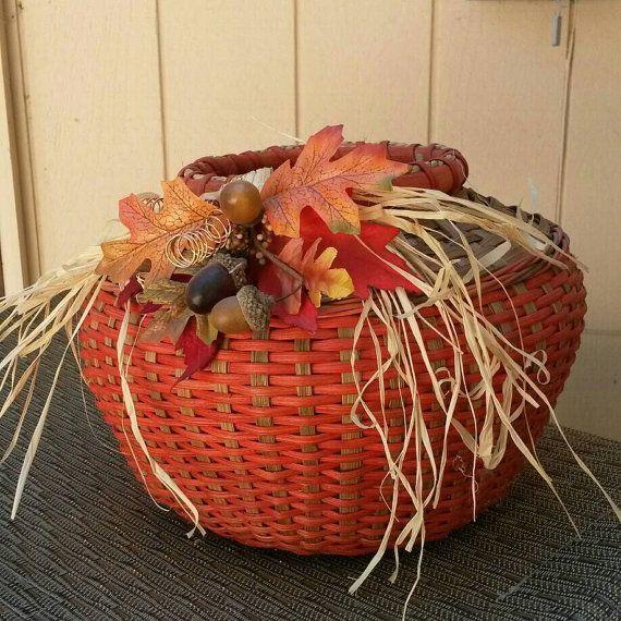 Autumn Glory Handwoven Basket