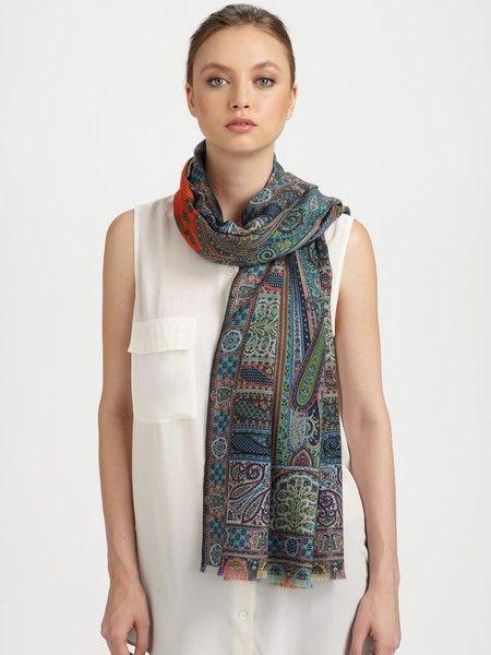 Echarpe en laine perd ses poils et peluche que faire, l empêcher     Echarpe  pashmina femme   Silk scarves, Cashmere et Silk b0da054d75b
