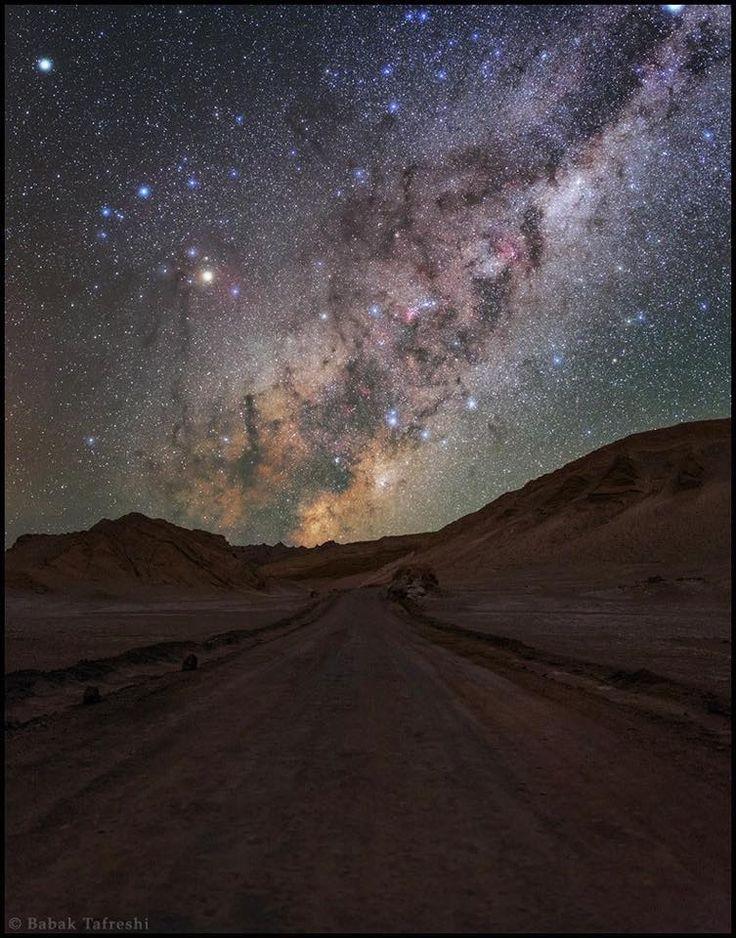 Milky Way: San Pedro de Atacama, Valle de la Luna, Atacama Desert, Chile. By Babak A. Tafreshi