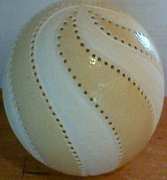 CE2007 Carousel. beautifully carved ostrich egg which gives you that stunning two tone effect between the carved areas and the shell.