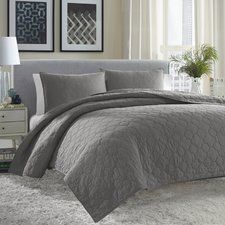 Atami Reversible Coverlet Set
