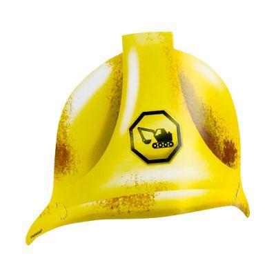 İnşaat Alanı Konsepti Parti Karton Şapka