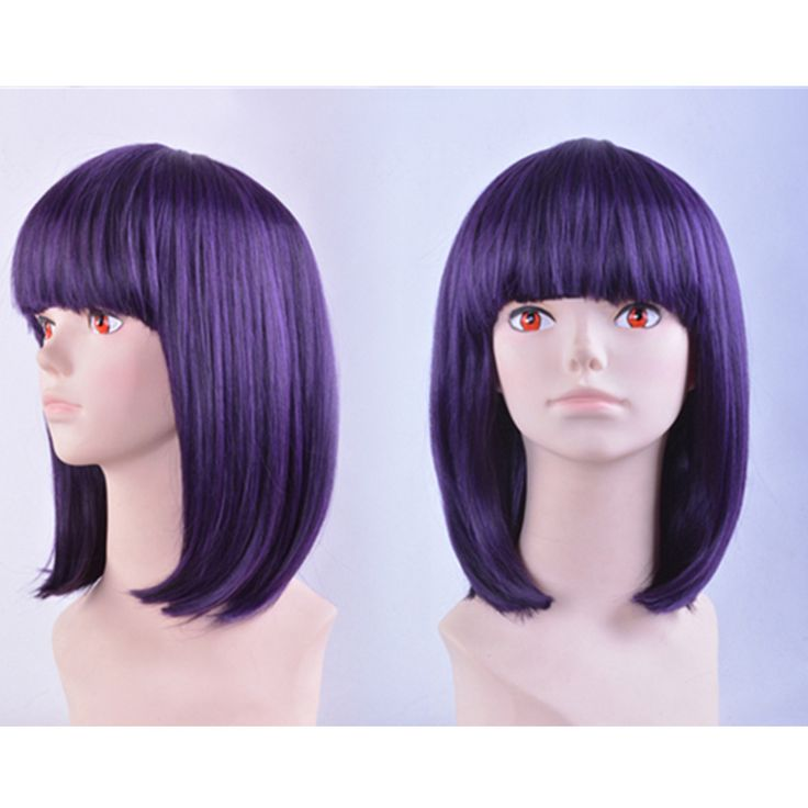 Cosplay Sailor Moon Sailor Saturn Tomoe Hotaru Purple-black Short Wig CP151664