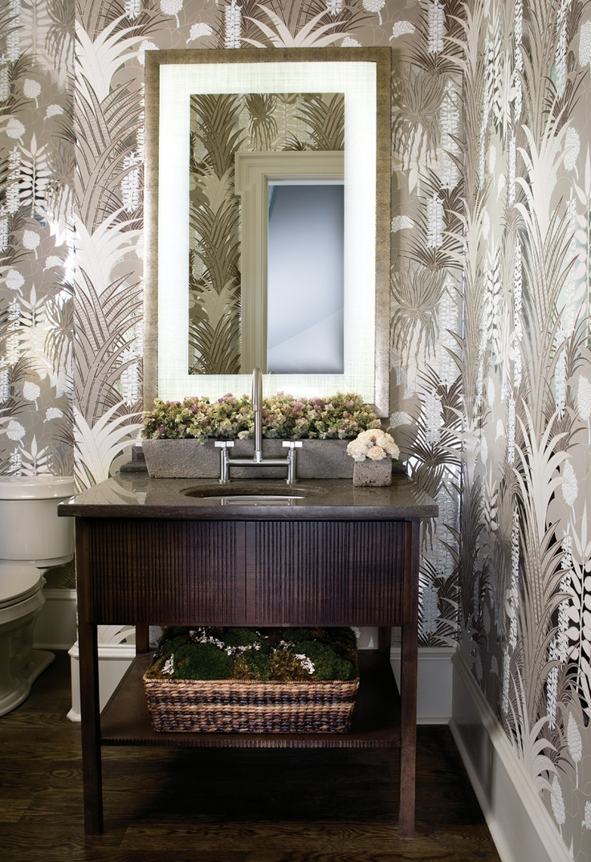 Granite Bathroom Furniture Vanity With Bridge Faucet