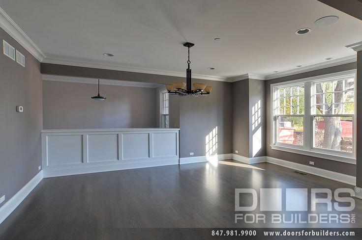 Custom Windows Project - Single hung Windows in Dining Room - Windsor Windows & Doors