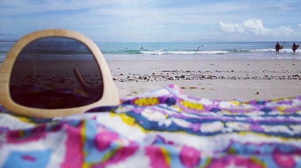 The Rad Rug #beachtowel #kykullo #beach #towel #theradrug #bali #indo