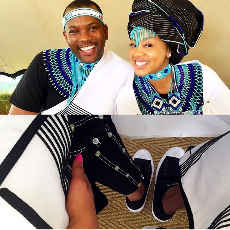 Xhosa traditional wear. #ProudlySA #africanprint