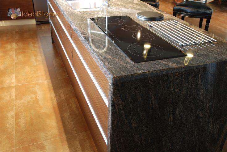 Blat Kamienny Granitowy Barowy W Kuchni Blat Na Wyspe Kuchenna