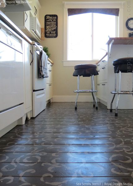 kitchen stencils designs 314 best images about stenciled amp painted floors on 3106