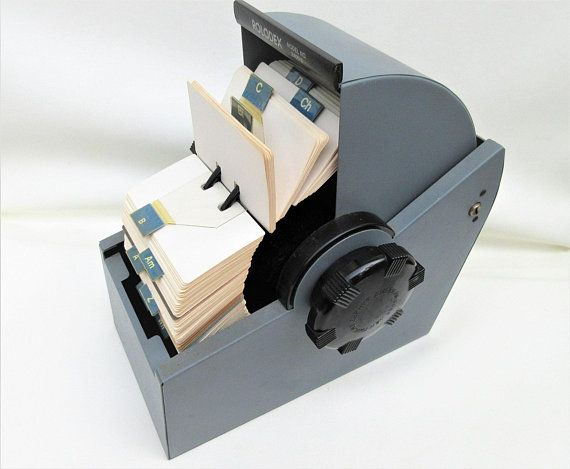 Vintage Rolodex Business Card Organizer Metal Rolodex Rolodex Card Holder Rolodex Cards Industrial Metal Roll Top Organizer In 2021 Business Card Organizer Rolodex Card Organizer