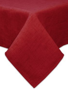 Bardwil Scarlet Brussels Oblong Tablecloth 60-in. x 120-in.