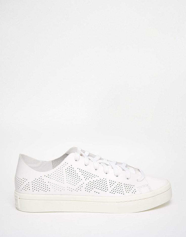 Image 1 - Adidas Originals - Court Vantage - Baskets avec perforations