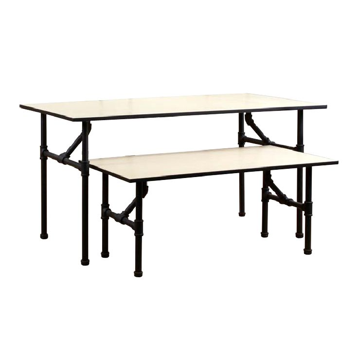 Nesting table display table small pipe nesting tables for Petite table pliable