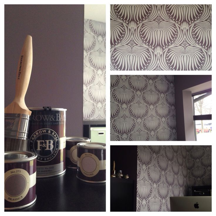 Take a look at our backoffice, beautiful Brassica from Farrow and Ball