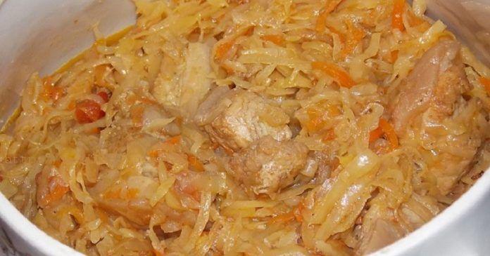 Польский бигос из свежей капусты