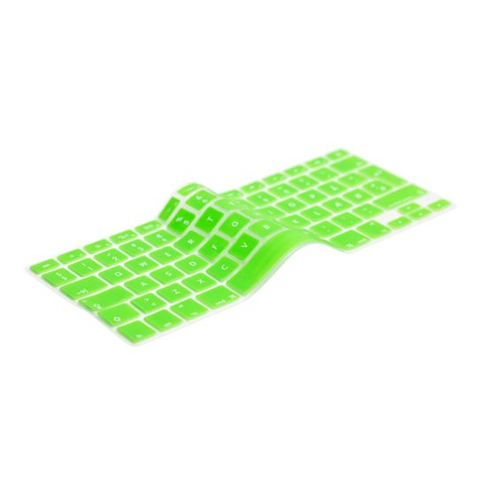 English Green Keyboard Cover Prolongs the life of your MacBook. Protects your keyboard against dirt, liquids, dust etc. The thinnest and most precise keyboard protection cover.