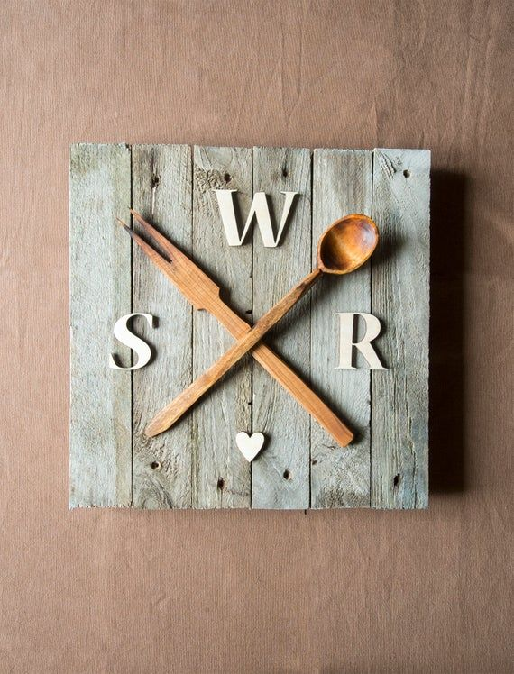 gifts for foodies rustic home decor Spoon rest