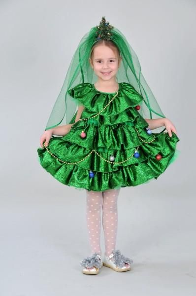 Как сшить карнавальный костюм елочки