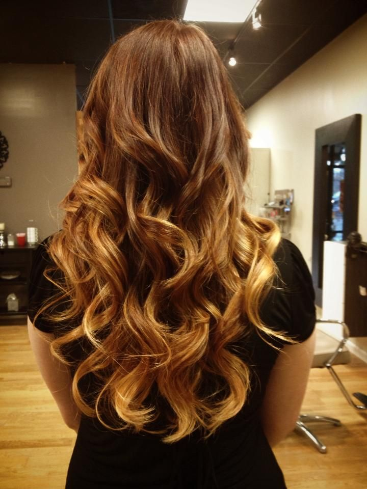 Copper To Blonde Ombre By Mary Campbell Inspiration