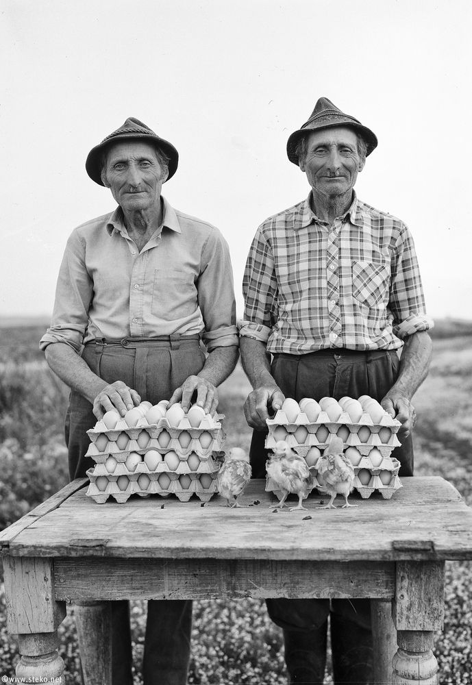 Heartbreaking Portraits Capture Two Identical Twin Farmers At The End Of Their Lives