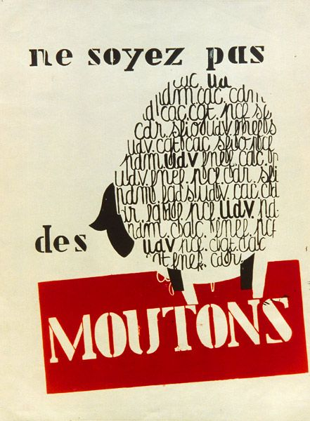 ne soyez pas des moutons.. - mai 68