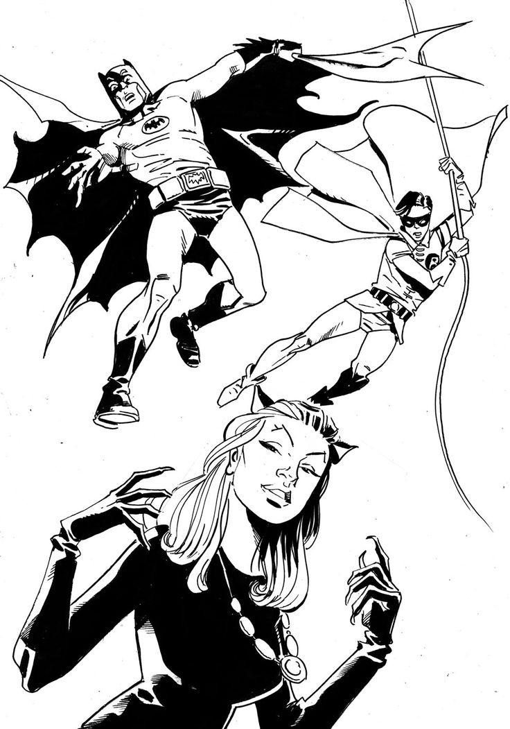Batman, Robin Catwoma 66