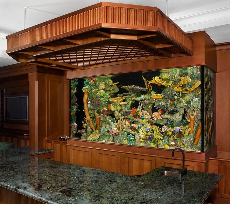 199 best images about aquariums fish tanks ponds on pinterest for Custom fish tanks