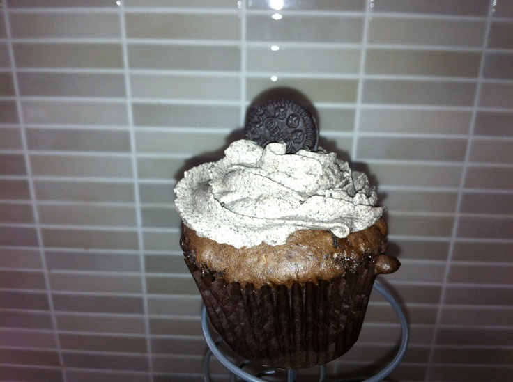 More choc Oreo cup cakes