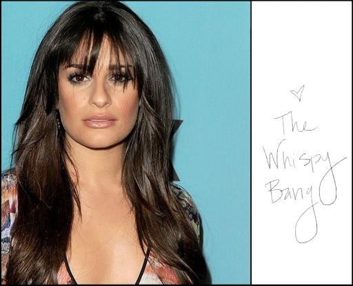 bangs: Blunt Bangs, Lea Michelle, Long Hair, Bangs Bangs, Hair Style, Stylish Hair, Fall Hair, Lea Michele, New Hairstyles