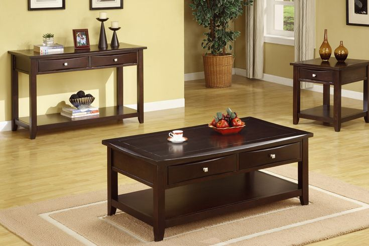 50+ Espresso Coffee Table and End Tables - Modern Classic Furniture Check more at http://www.nikkitsfun.com/espresso-coffee-table-and-end-tables/