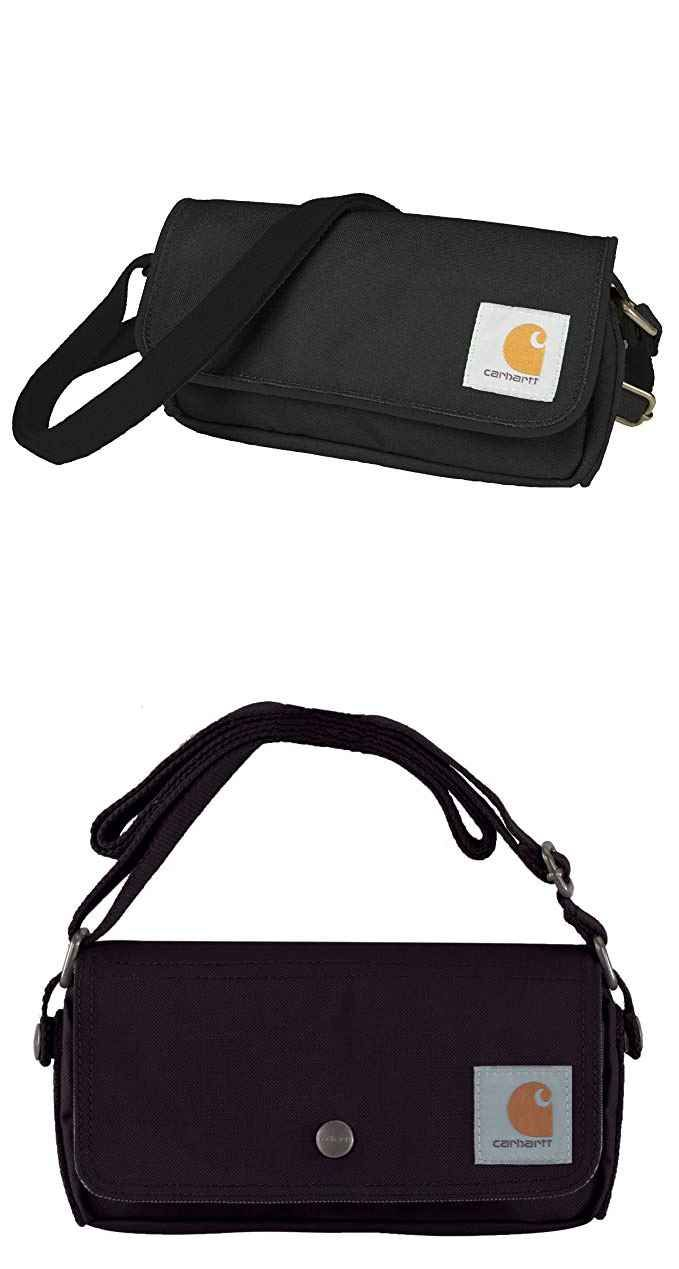 Carhartt Legacy Women s Essentials Crossbody Bag and Waist Pouch, ... 99abbeb5c4