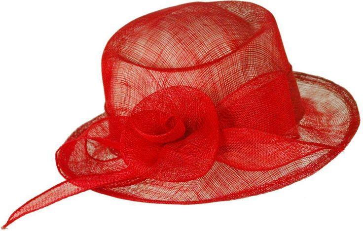 Sombreros de mujer Albero 7151 rojo - ALBERO
