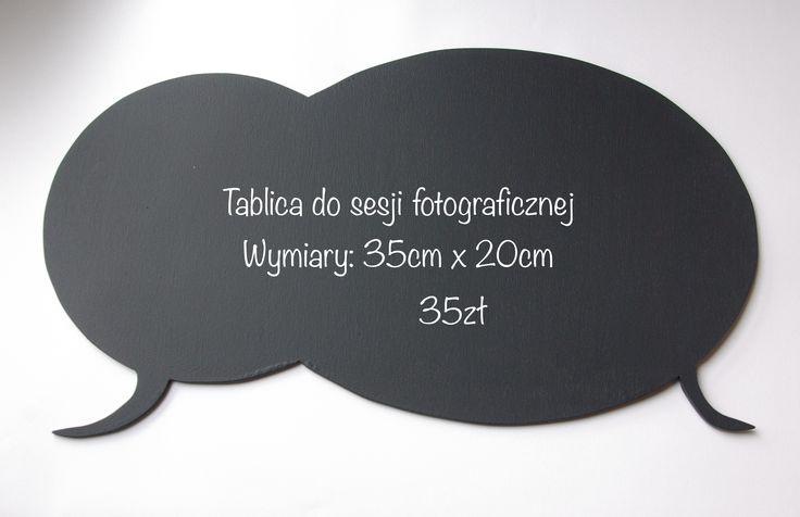 Tablica do wykorzystania do sesji fotograficznych Blackboards Photo prop