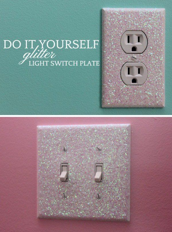 Glitter Light Switch Plates (scheduled via http://www.tailwindapp.com?utm_source=pinterest&utm_medium=twpin&utm_content=post179689769&utm_campaign=scheduler_attribution)