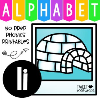 Teach your students all about the Letter I with this wonderful collection of classroom printables! 25 pages of NO PREP printables for teaching the letter sound I, including printing practice pages, letter sorts, picture search pages, crowns, bracelets and much much more! 2 fun interactive letter songs have been included for adding more fun and enrichment into your Letter Of The Week Program.