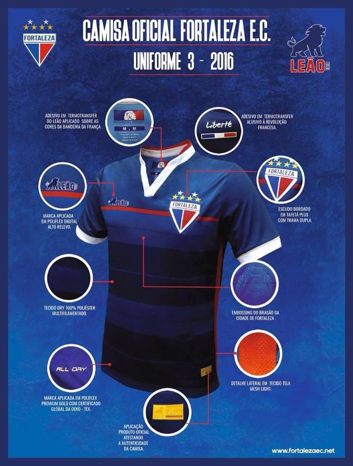 Revolution Terceira camisa do Fortaleza 2016-2017 Leão