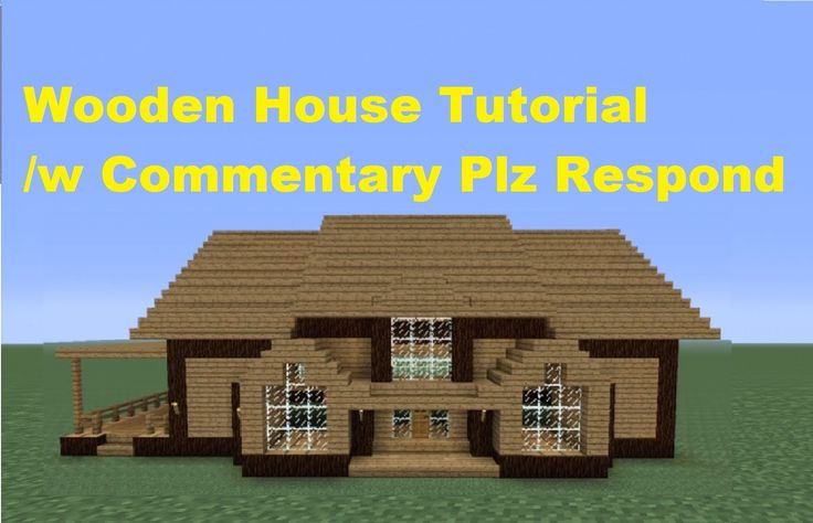 Minecraft 360: How to Build a Wooden House - House Number 3