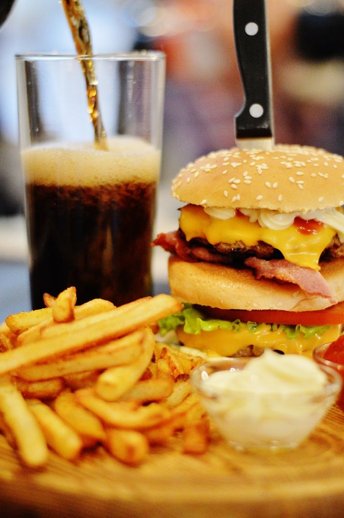 Homemade burgers, beats take-aways
